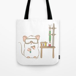 Lab Mouse Tote Bag