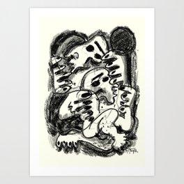 Break Apart Art Print