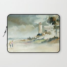 A Stroll to Point Betsie Laptop Sleeve