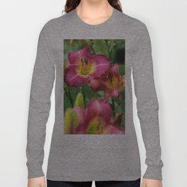 Sorbet Flower Long Sleeve T-shirt