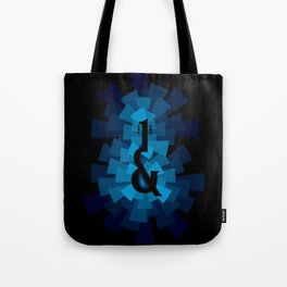 and the guitar Tote Bag
