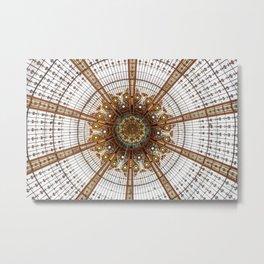 France, Gallery Lafayette, Paris Metal Print