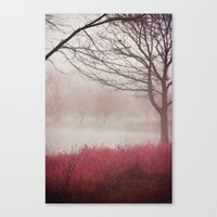 fog Canvas Prints featuring Fog by KunstFabrik_StaticMovement Manu Jobst