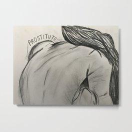 Untitled #7 by Jessa Crisp Metal Print