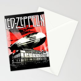 Red Zeppelin Stationery Cards