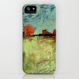Orange Horizon iPhone Case