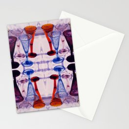 Wine Glass Photographic Pattern #2 Stationery Cards