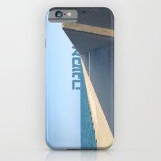 Emuna (Faith - Hebrew) iPhone 6s Slim Case
