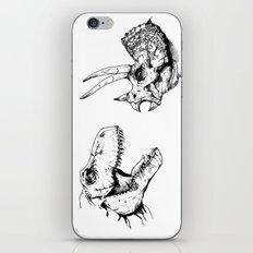T-Rex Vs Triceratops iPhone Skin