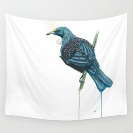 The Parson Bird aka Tui Wall Tapestry