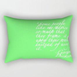 Advice Rectangular Pillow