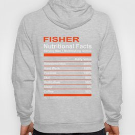 Nutritional Facts Fisher T-Shirt Hoody