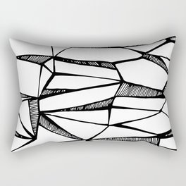 I was never faithful (and I was never one to trust) Rectangular Pillow