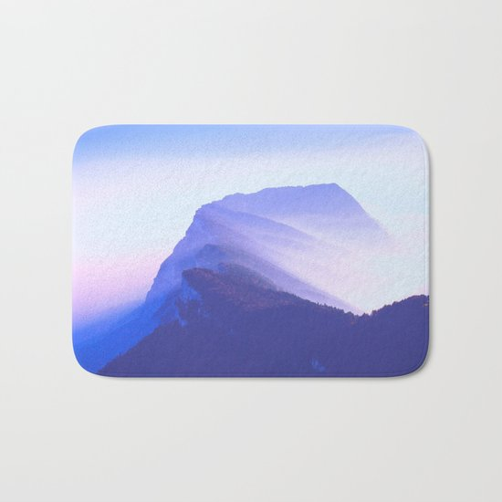 French mountains Bath Mat
