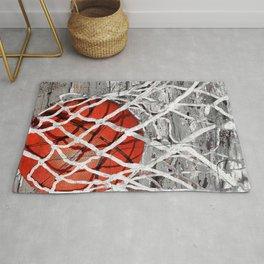 Basketball Art Rug