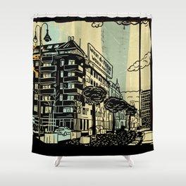 Freud II. Shower Curtain