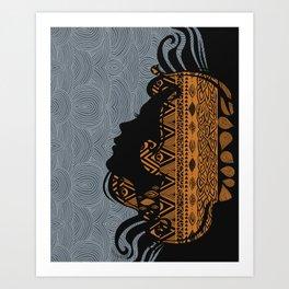 Tribal Dreams by Viviana Gonzalez & Pom Graphic Design Art Print
