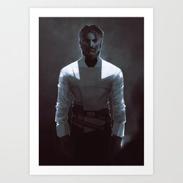DH: White Shirt Corvo Art Print