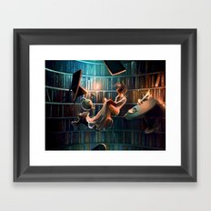 Need more than one life Framed Art Print