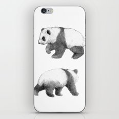 Walking Panda sketchSK062 iPhone & iPod Skin