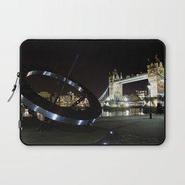 Tower Bridge London at Night Laptop Sleeve