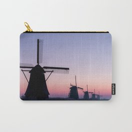 Windmills at Sunrise II Carry-All Pouch