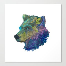Space Bear! Canvas Print