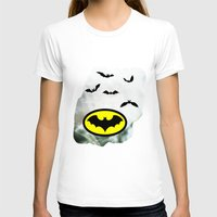 bat man T-shirts featuring Bat man  by haroulita