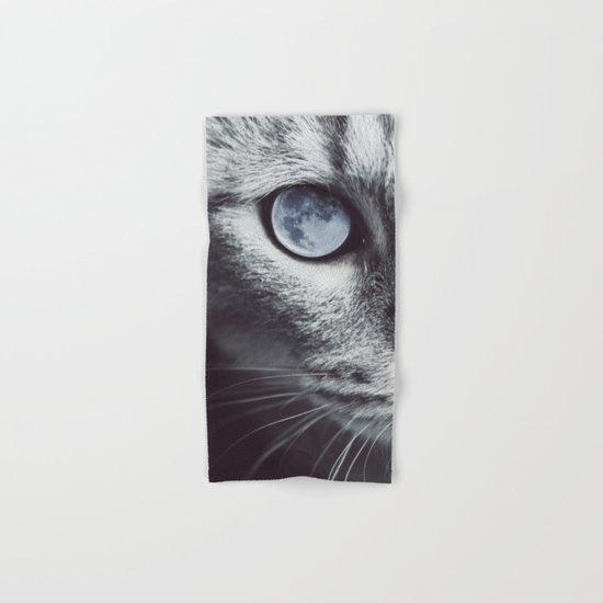 Moon cat Hand & Bath Towel