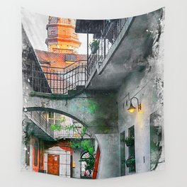 Cracow art 13 Kazimierz #cracow #krakow #city Wall Tapestry