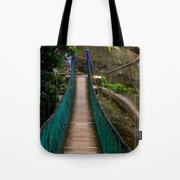 Swinging Bridge -Guam Tote Bag