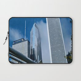 Downtown City Structures Laptop Sleeve
