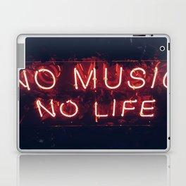 No Music No life Laptop & iPad Skin