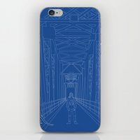 blueprint iPhone & iPod Skins featuring Blueprint by Sophie Broyd