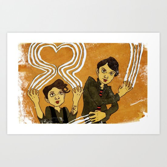 """Heartthrob"" by Dmitri Jackson Art Print"