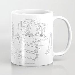 Korg VC-10 - exploded diagram Coffee Mug