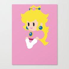 Princess Peach - Minimalist  Canvas Print