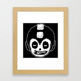 MISFITS MEGA MAN SKULL Framed Art Print