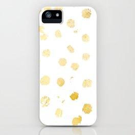 Foil Spots iPhone Case