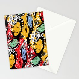 AFRICA / MANDELA no 2 Stationery Cards