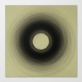 'Supermassive black hole' Canvas Print
