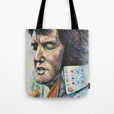 The King - Elvis Presley Tote Bag