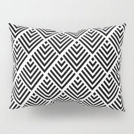 Black Pattern Pillow Sham