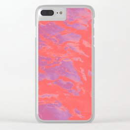 neon demon Clear iPhone Case