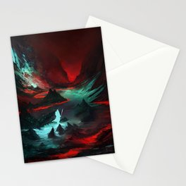 Red Cave Stationery Cards