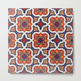 Morrocan tiles Metal Print