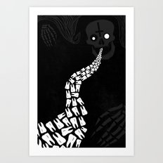 LOOSE TEETH Art Print