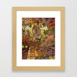 Hero's Journey Framed Art Print