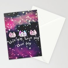 pig-122 Stationery Cards