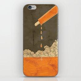 Orange Dreamsicle iPhone Skin
